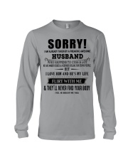 The perfect gift for your WIFE - D Long Sleeve Tee thumbnail
