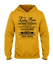 I am a Lucky Mom- Awesome Daughter- Kun 07 Hooded Sweatshirt thumbnail