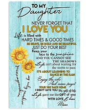 Special canvas for daughter - C 11x17 Poster front