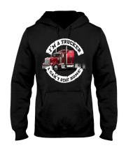I'm a trucker i can't stay home Hooded Sweatshirt thumbnail