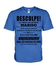 O presente perfeito para a Esposa - D00 V-Neck T-Shirt thumbnail