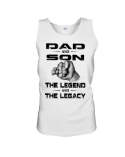 Dad and Son The Legend and The Legacy Unisex Tank thumbnail