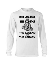 Dad and Son The Legend and The Legacy Long Sleeve Tee tile