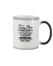 I am a Lucky Mom- Awesome Daughter- Kun 11 Color Changing Mug thumbnail