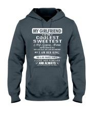 Gift for boyfriend - Girl was born in July Hooded Sweatshirt thumbnail