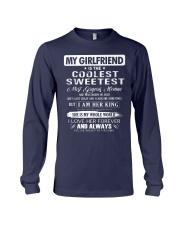 Gift for boyfriend - Girl was born in July Long Sleeve Tee thumbnail