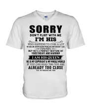 perfect gift for your girlfriend- A00 V-Neck T-Shirt thumbnail