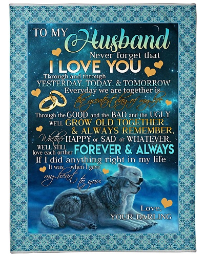 My Darling -I LOVE YOU FOREVER AND ALWAYS -chad BL