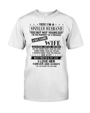 Spoiled husband  Classic T-Shirt tile