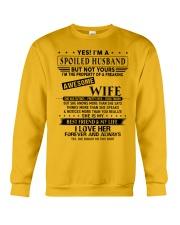 Spoiled husband  Crewneck Sweatshirt thumbnail