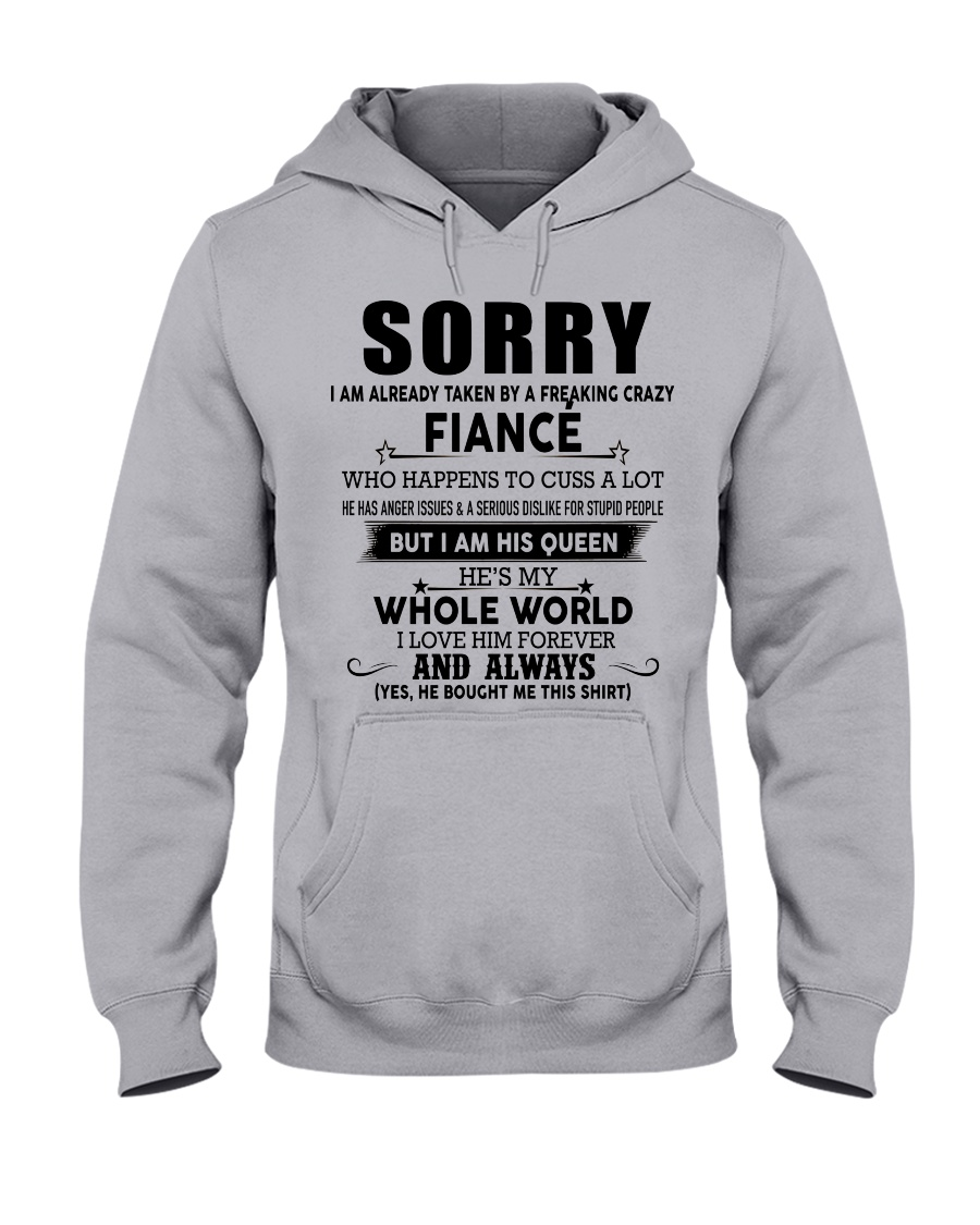 The perfect gift for fiancee - D00 Hooded Sweatshirt