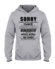 The perfect gift for fiancee - D00 Hooded Sweatshirt front