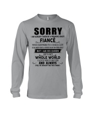 The perfect gift for fiancee - D00 Long Sleeve Tee thumbnail