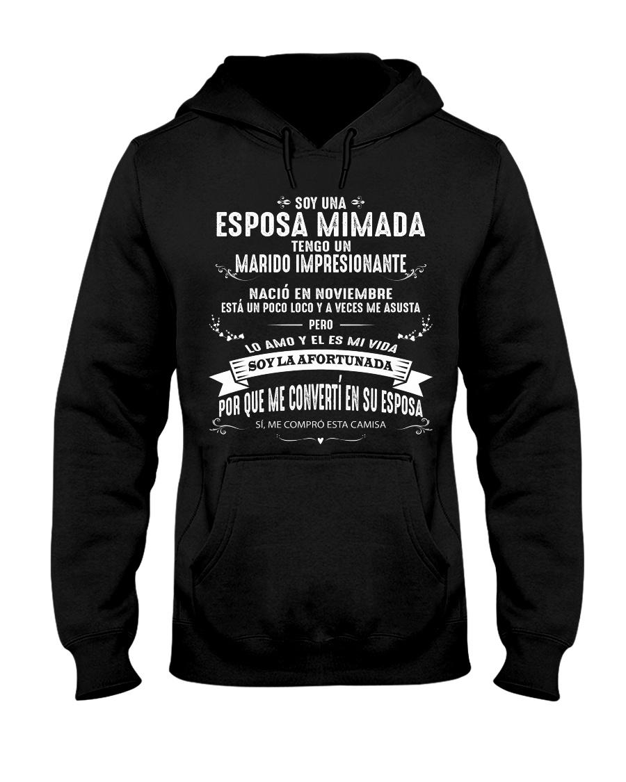 Soy la afortunada - C11 Noviembre Wife Store Hooded Sweatshirt