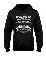 Soy la afortunada - C11 Noviembre Wife Store Hooded Sweatshirt front