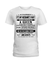 I am spoiled wife - Gift for wife CTUS09 Ladies T-Shirt front