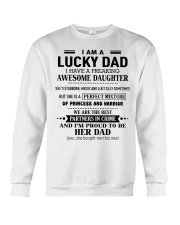 I'm a lucky Dad- I have an awesome Daughter-Kun 00 Crewneck Sweatshirt thumbnail