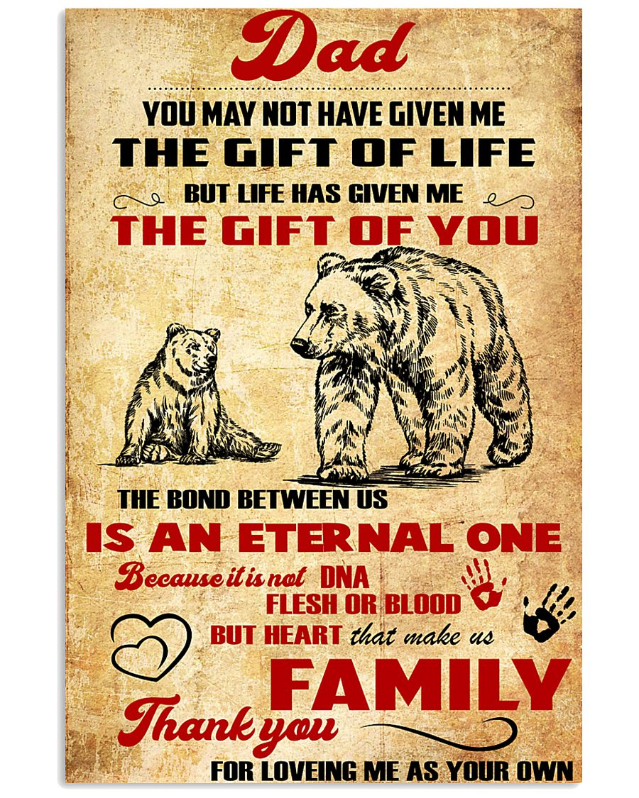 Special gift for father's day - C00 11x17 Poster