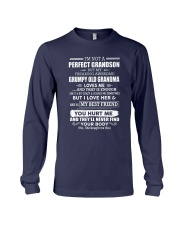 Special gift for grandson - C00 Long Sleeve Tee thumbnail