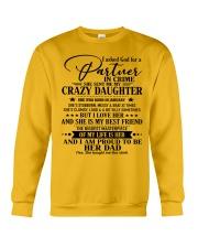DAUGHTER TO DAD - nok01 JANUARY Crewneck Sweatshirt thumbnail