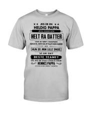 PERFEKTE GAVER TIL PAPPA-12 Classic T-Shirt front