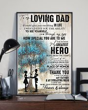 Tung store To my Dad T0 T6-29 11x17 Poster lifestyle-poster-2