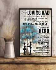 Tung store To my Dad T0 T6-29 11x17 Poster lifestyle-poster-3