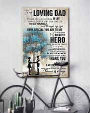 Tung store To my Dad T0 T6-29 11x17 Poster lifestyle-poster-7