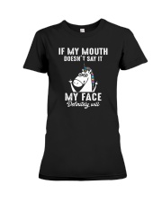 Unicorn my face Premium Fit Ladies Tee thumbnail