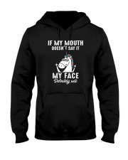 Unicorn my face Hooded Sweatshirt thumbnail