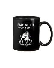 Unicorn my face Mug thumbnail