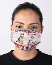 She Also Needs Her German Shepherd Masks Cloth face mask aos-face-mask-lifestyle-01