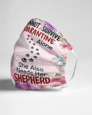 She Also Needs Her German Shepherd Masks Cloth face mask aos-face-mask-lifestyle-21