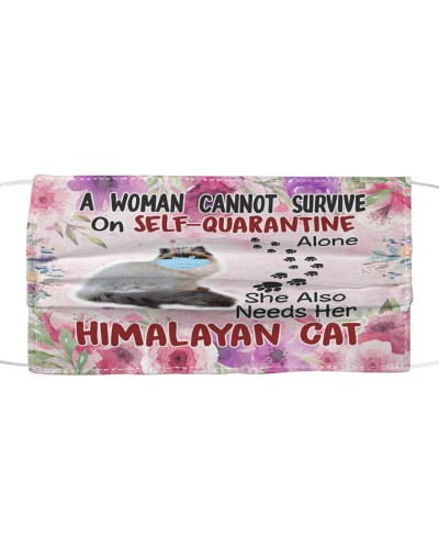 She Also Needs Her Himalayan Cat Masks