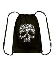 Unicorn skull Drawstring Bag thumbnail