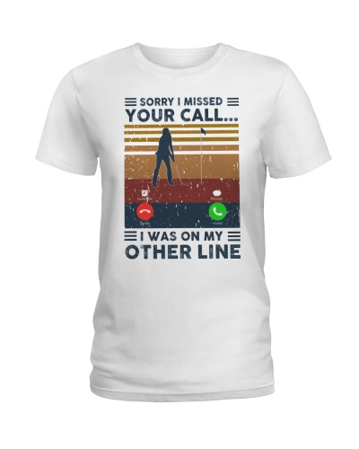 Sorry I Missed Your Call Golf