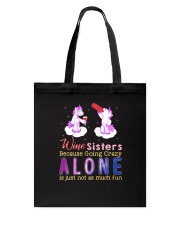 Unicorn alone Tote Bag thumbnail