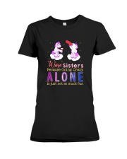 Unicorn alone Premium Fit Ladies Tee thumbnail