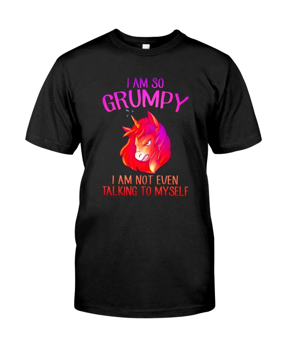 Unicorn grumpy Classic T-Shirt