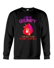 Unicorn grumpy Crewneck Sweatshirt thumbnail