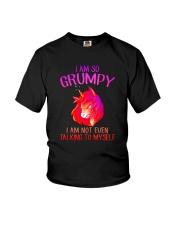 Unicorn grumpy Youth T-Shirt thumbnail