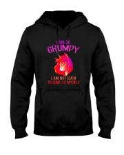 Unicorn grumpy Hooded Sweatshirt thumbnail