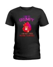 Unicorn grumpy Ladies T-Shirt thumbnail