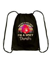 Unicorn disaster Drawstring Bag thumbnail