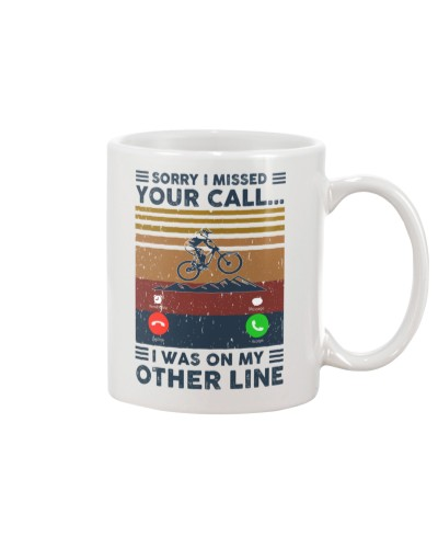 Sorry I Missed Your Call- Mountain biking