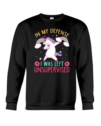 Unicorn i was left unsupervised