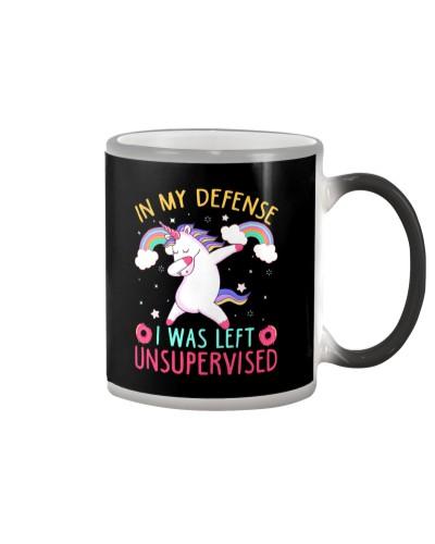 Unicorn i was left unsupervised