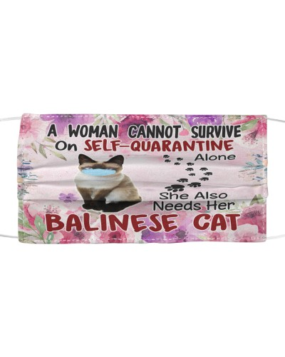 She Also Needs Her Balinese Cat Masks