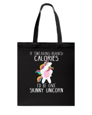 Unicorn calories Tote Bag thumbnail