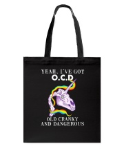 Unicorn o c d Tote Bag thumbnail